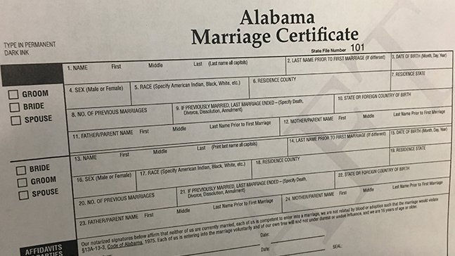 How To Register A Marriage In The US