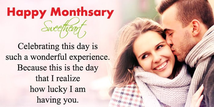 Monthsary Message One