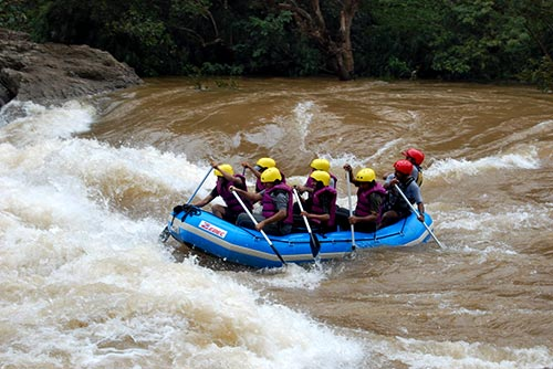 Rafting in Chikmagalur