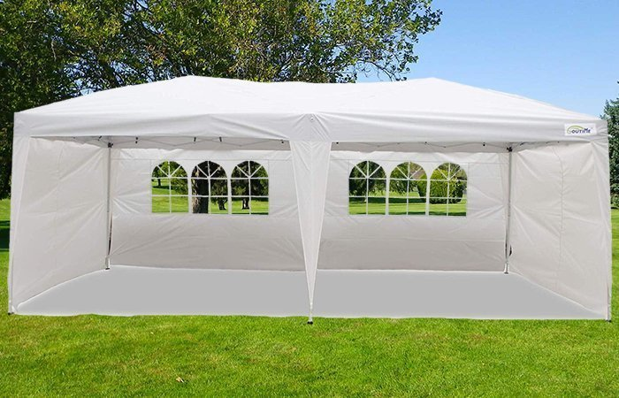 Goutime Pop up Canopy 10x20 Wedding Tent