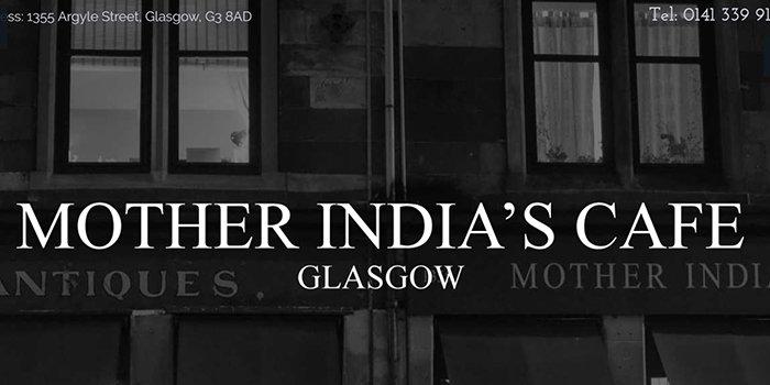Mother India Restaurant In Glasgow