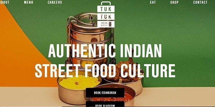 Tuk Tuk Indian Restaurant In Glasgow