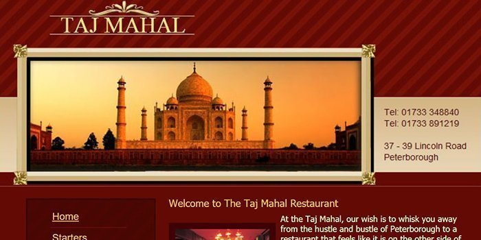 Peterborough Taj Mahal Restaurant