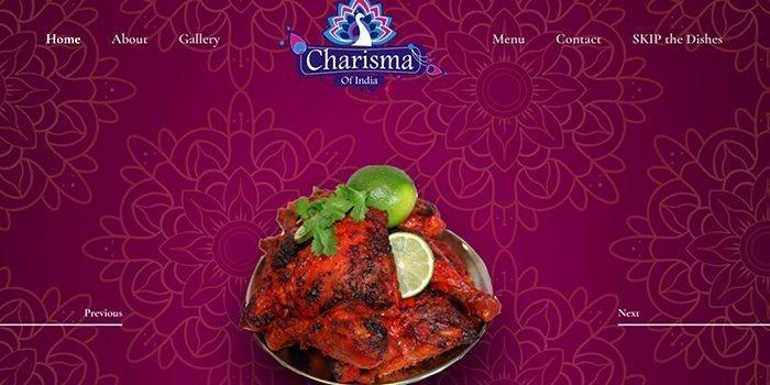 Charisma of India Restaurant in Winnipeg