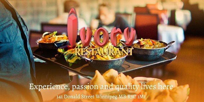 Ivory Indian Restaurant in Winnipeg