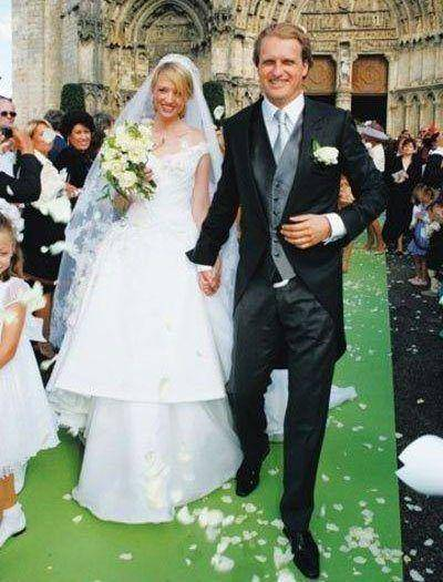 Alessandro Ganci and Delphine Arnault Wedding