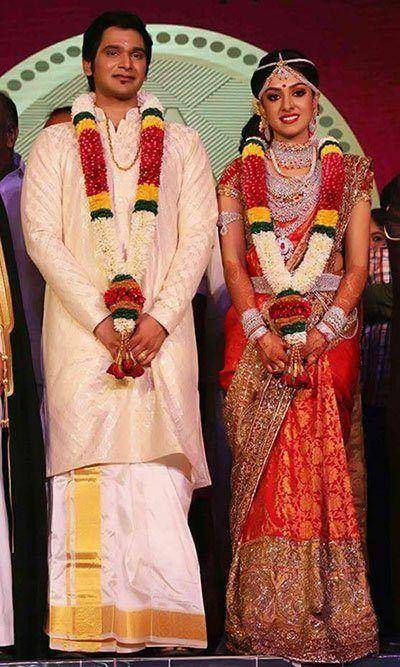 Adithya Vishnu Arathi Pillai Wedding