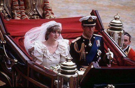 Charles and Diana Wedding Carriage