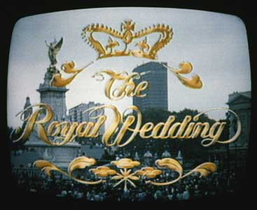 Charles and Diana Wedding TV Coverage