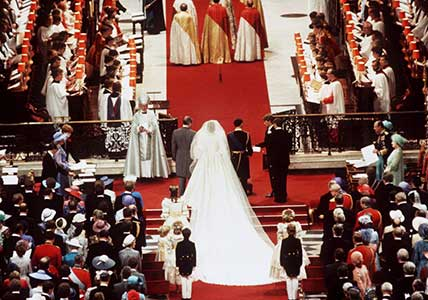 Charles and Diana Wedding