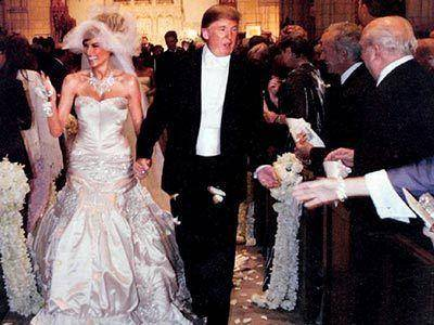 Donald Trump and Melania Knauss Wedding