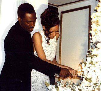 Eddie Murphy and Nicole Mitchell Wedding