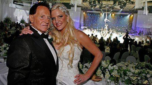 Geoffrey Edelsten and Brynne Gordon Wedding