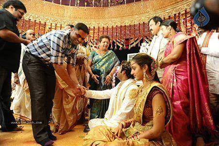 Jr. N.T.R. and Lakshmi Wedding