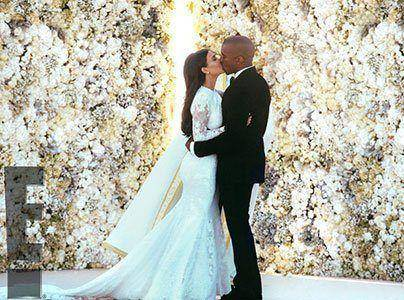Kanye and Kim Wedding