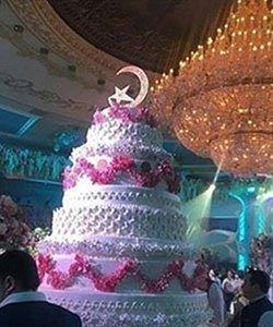 Said Khadija Wedding Cake
